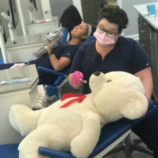 Happy National Teddy Bear Day! We strive to provide exceptional care to all our patients, including those that have stuffing! Give your teddy a hug today! #DObraces #SmileOn #NationalTeddyBearDay