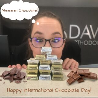 Happy International Chocolate Day! What a great way to make a Monday sweet! What are some of your favorite chocolate treats? #DObraces #SmileOn #internationalchocolateday2021 #ChocolateCHOCOLATE!
