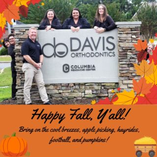 Happy first day of fall, everyone! What do you look forward to the most about fall? #DObraces #FirstDayofFall #fallequinox #hellofall