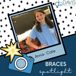 Anna-Cate got her braces today, and is looking FABULOUS! Check out that smile! Anna-Cate, you are rocking it, and we can't wait to see your smile transform! #DObraces #SmileOn #BracesOn #SmileJourney #braces