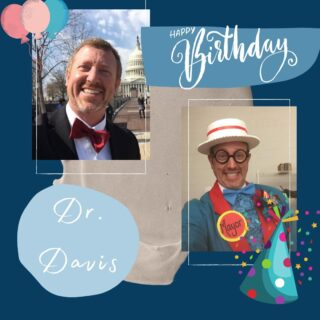 """Happy Official Birthday, Dr. Davis! We hope the BIG """"5-OH"""" is a great one and the next 50 are even better than the last! #HappyBirthday #DObraces #SmileOn #50thbirthday #bossbirthday #nifty50"""