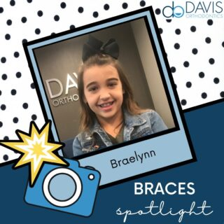 Look who got braces today! Braelynn is looking pretty in pink and is loving braces. Congratulations Braelynn on starting your smile journey! #DObraces #SmileOn #BracesOn #SmileJourney #PrettyInPink